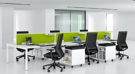 Office Bench Desk Systems