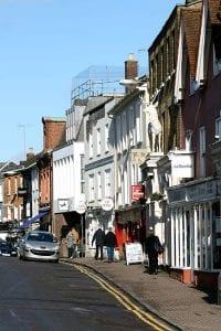 Hertford town centre
