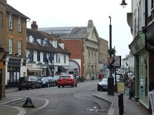 Hertford town centre