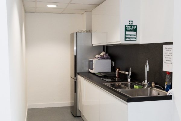 Kitchen at UOE Business Hub Hertford