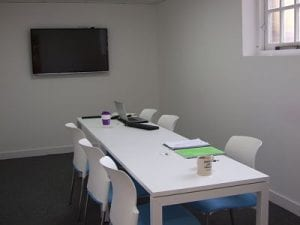 Meeting room at UOE Hub Hertford