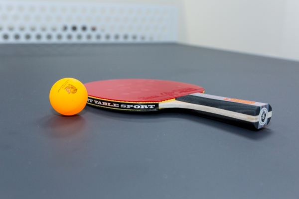 Table tennis at UOE Business Hub office space in Hertford