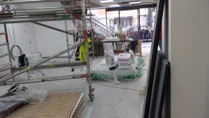 Hertford refurbishment