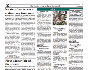 Archer Newspaper review