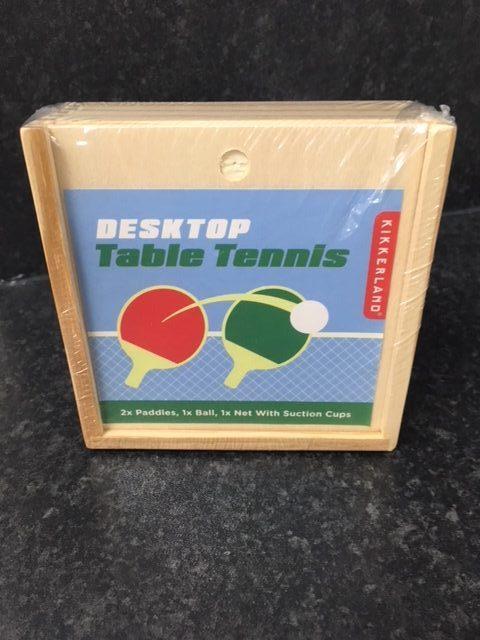 Desktop table tennis gift
