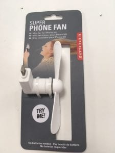 Mobile phone fan gift