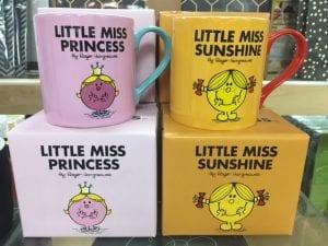 Mr Men mug gift
