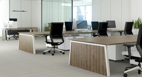 modern bench desk