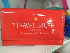 travel purse gift