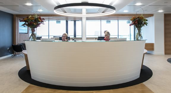 office reception counters hertfordshire essex furniture chairs diamond