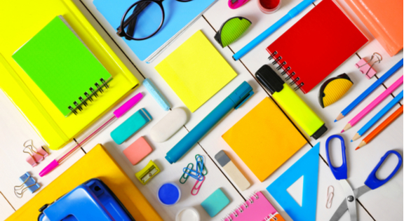 Colourful Stationery - stationery week