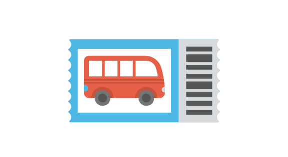 National Express, bus ticket service