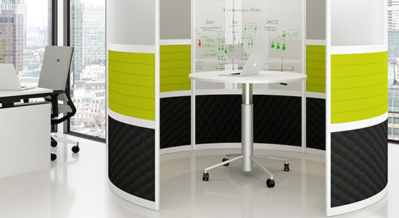 meeting pod modern office space