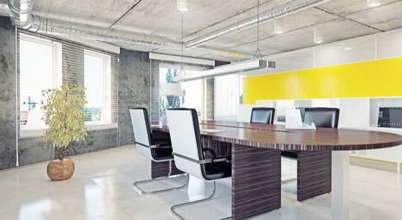 modern office space open plan