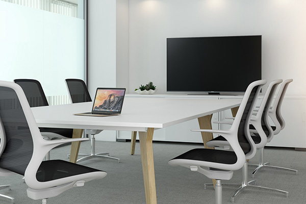 Meeting room, modern and sophisticated
